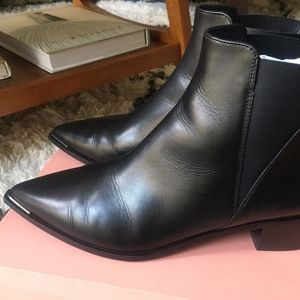 Brand New! ACNE Jensen Leather Ankle Boot